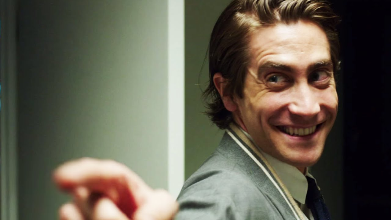 A photo of Jake Gyllenhaal from a scene in the movie Nightcrawler.